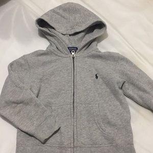 Polo toddler zipper hoodie